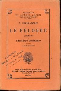 Edizione scolatica Egloghe