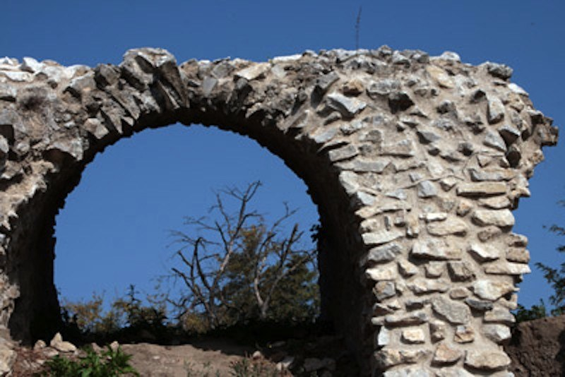 Telesia, particolare dell'anfiteatro