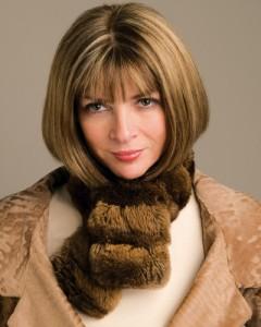 Anne Wintour, direttrice di Vogue dal 1988.