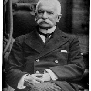 Sydney Sonnino (1847-1922). Ministro degli esteri durante la grande guerra.