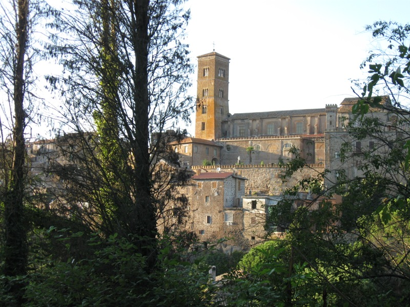Scorcio di Sutri, uno dei borghi più belli d'Italia.