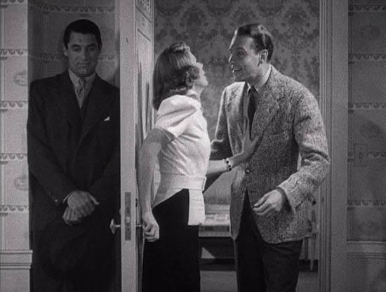 """Cary Grant, Irene Dunne e Ralph Bellamy in """"The awful truth - L'orribile verità"""" di Leo McCarey"""