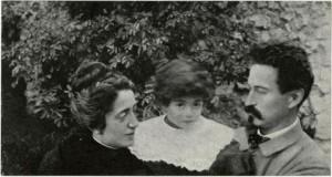 Cesare Battisti con la moglie Ernesta Bittanti.