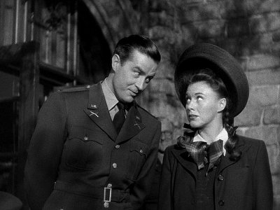 "Ginger Rogers e Ray Milland in ""The major and the minor - Frutto Proibito"" di Billy Wilder"