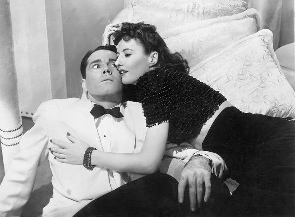 """Henry Fonda e barbara Stanwick in """"The Lady Eve"""" di Preston Sturges"""