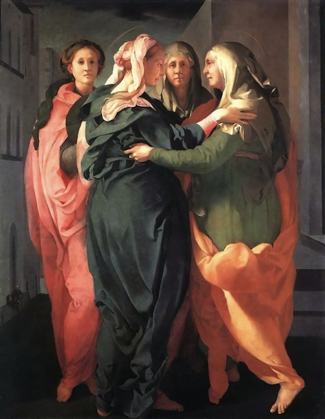 Pontormo: Visitazione Propositura dei Santi Michele e Francesco Carmignano