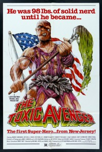 LOCANDINA THE TOXIC AVENGER