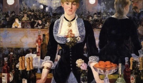 Bar alle folies bergère, 1882. Londra, Courtauld Gallery