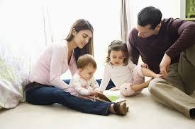 bambini in famiglia