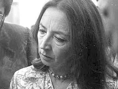 Oriana Fallaci (Firenze, 29 giugno 1929 – Firenze, 15 settembre 2006)