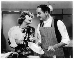 Carole Lombard e William Powell, già marito e moglie nella vita, si risposano in questo film. Ma i piatti deve lavarli lui