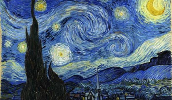 Notte stellata di Vincente Van Gogh