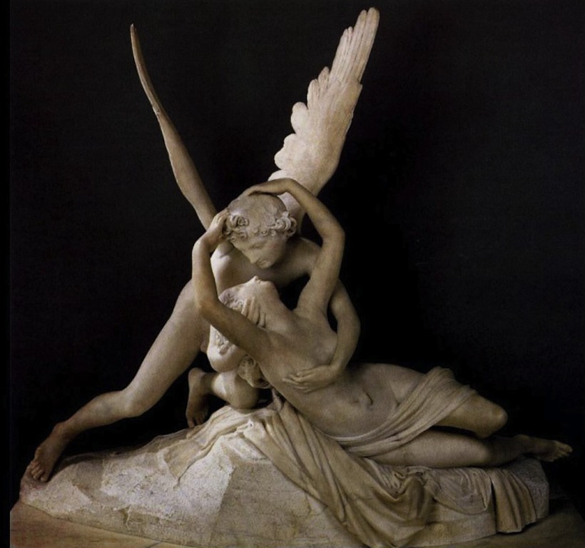 Amore e Psiche, Musée du Louvre, Parigi