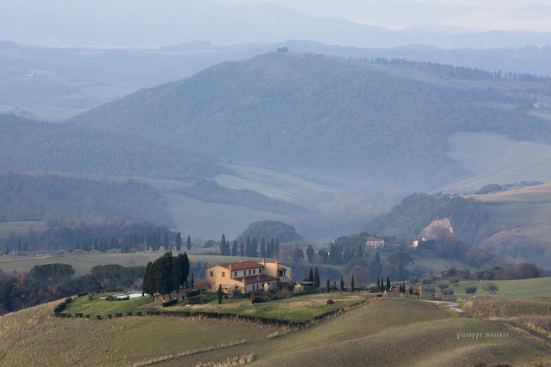 Paesaggio toscano foto di Giuseppe Moscato