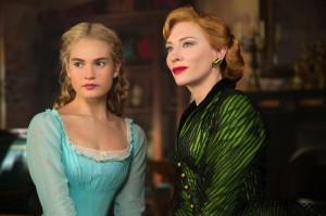 Al volto etereo di Lily James, perfetto per una supereroina gentile, si contrappone una villain folgorante come la matrigna interpretata dalla meravigliosa ed elegante Cate Blanchett
