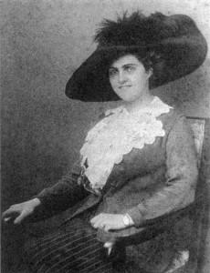 Una delle numerose amanti di Giacomo Puccini, la baronessa Von Stengel (1886-1926).