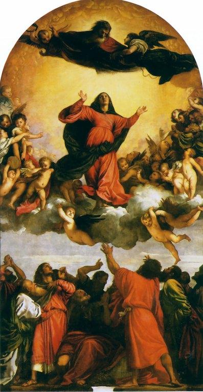 L'assunzione della Vergine, Santa Maria Gloriosa dei Frari,