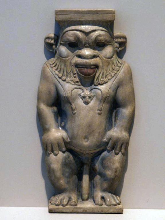 Il dio Bes, Altes Museum, Berlino