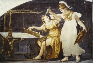 Aracne e Atena