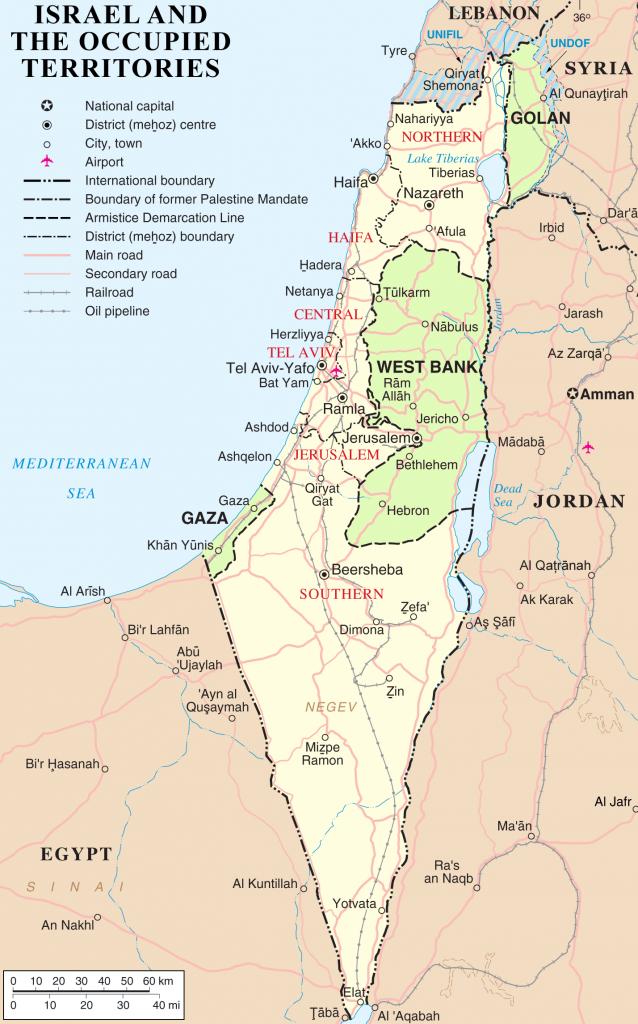 Israele e i territori occupati