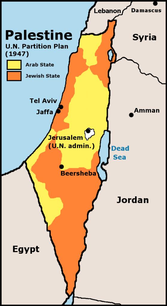 Piano Onu di partizione della Palestina