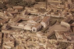 Ricostruzione delle Terme di Traiano