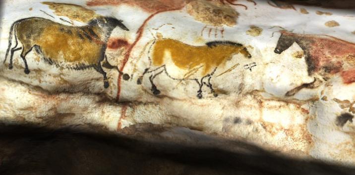Dipinti nelle Grotte di Lascaux (Francia) risalenti a circa 15.000 anni fa.