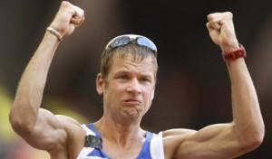 Beijing Olympics Athletics Race Walk Mens 50km
