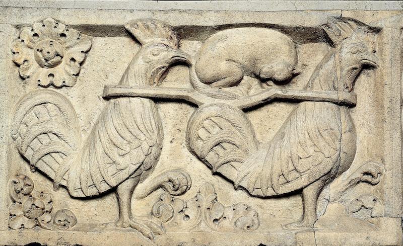 Porta della pescheria, Il funerale della volpe.