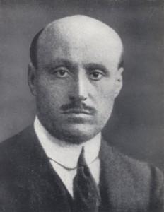 Luigi Albertini, direttore del Corriere della Sera.