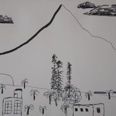 Il monte Teide visto da Playa Santiago a La Gomera
