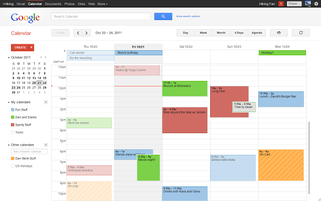 Google calendar tiene a mente per noi ogni appuntamento, scadenza, anniversario.