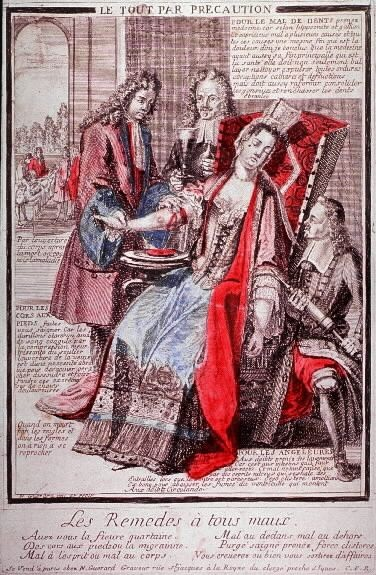 I rimedi a tutti i mali, stampa satirica, XVII secolo