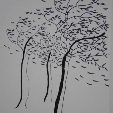 Alberi nel vento