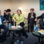 Merkel, Tsipras And Hollande Meet In Riga