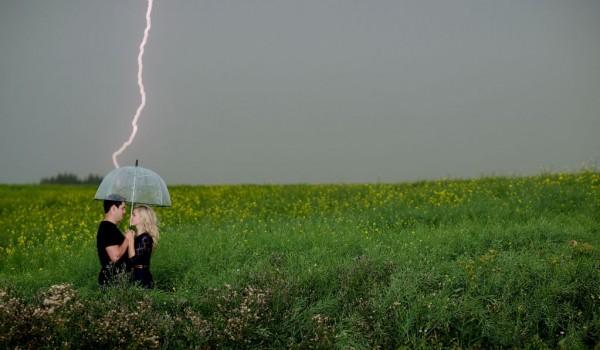 Lightning on a couple