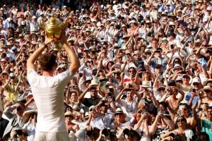 Ande Murray a Wimbledon.