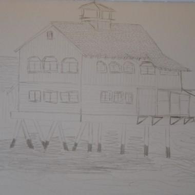 Casa sul molo della Baia