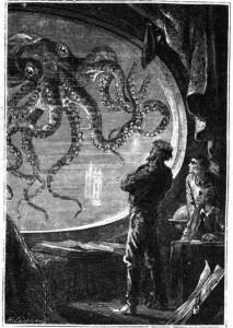 Le meraviglie degli abissi marini. Il Nautilus del capitano Nemo.