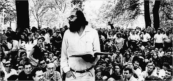 """Allen Ginsberg recita """"Howl"""" alla Naropa University"""