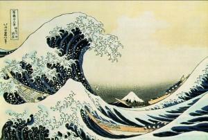 L'onda presso la costa di Kanagawa.