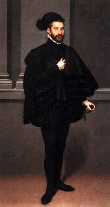 Il cavaliere in nero di Giovan Battista Moroni  (Museo Poldi Pezzoli - Milano).
