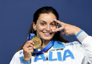 Rossella Fiamingo Primo Piano podio_MOSCA