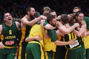 Semifinale dei campionati. Lituania-Serbia.
