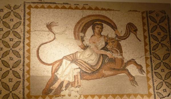 Ratto di Europa, mosaico del III secolo d.C. rinvenuto a Byblos (III_sec._d.C.)