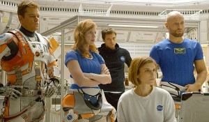 The Martian - Matt Damon - Jessica Chastain