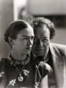 Frida Kahlo e Rivera.
