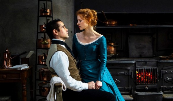 Colin Farrell Jessica Chastain Miss Julie