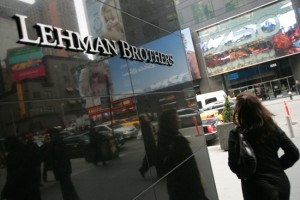 Lehman Brother Collapse - 2008