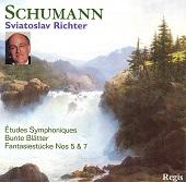 05. Sviatoslav Richter. Schumann – Etudes Symphoniques, Bunte Blatter, Fantasiestucke (1971-79)